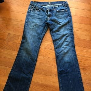7 boot cut jeans.